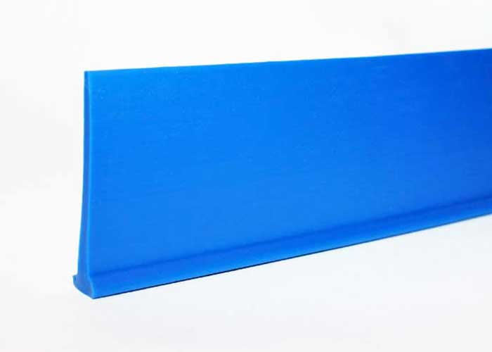 Clear Smooth PVC material, Used a conveyor belt tracking guide